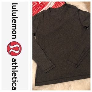 🖤 Men Lululemon V neck long sleeve